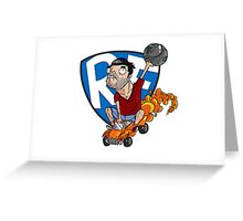 Videogames :: Rocket League Greeting Card