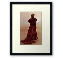 Gallifrey Falls Framed Print