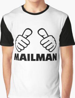 Mailman Graphic T-Shirt