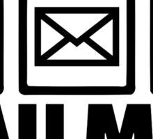 Mailman Sticker