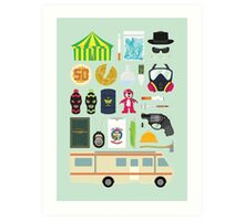 Breaking Bad Illustration Art Print
