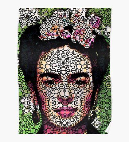 Frida Kahlo Art - Define Beauty Poster