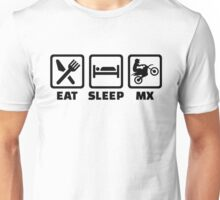 Eat sleep Motocross MX Unisex T-Shirt