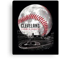 Cleveland Summer Nights Canvas Print