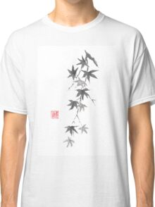 Star rain sumi-e painting Classic T-Shirt