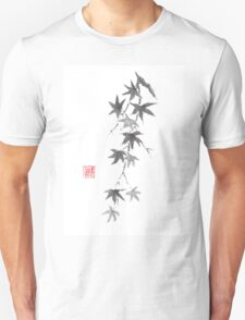 Star rain sumi-e painting T-Shirt