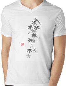Star rain sumi-e painting Mens V-Neck T-Shirt