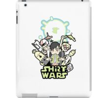 shirt was not star wars iPad Case/Skin