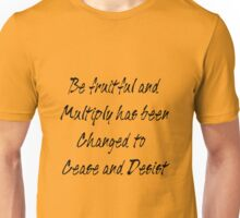 be fruitful and multiply Unisex T-Shirt