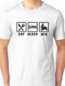 Eat sleep ATV Unisex T-Shirt
