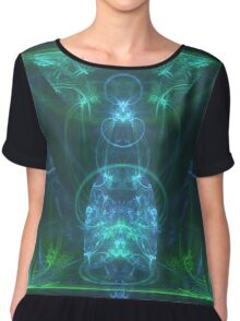 Dress of Fertility | Original Fractal Art Chiffon Top