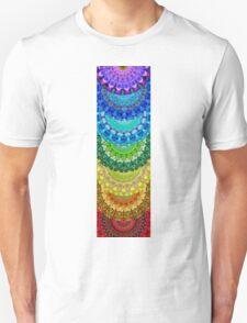 Chakra Mandala Healing Art by Sharon Cummings T-Shirt