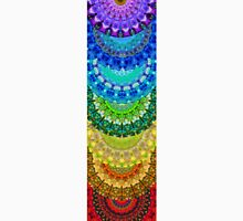 Chakra Mandala Healing Art by Sharon Cummings Unisex T-Shirt