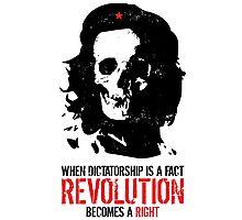 Che Skull Revolution Photographic Print