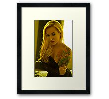 Portrait of a Blond  Framed Print