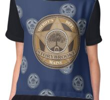 Once Upon a Time - Sheriff's Dept. Chiffon Top