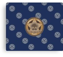 Once Upon a Time - Sheriff's Dept. Canvas Print