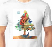 Dog Art - Contemplation 2 - By Sharon Cummings  Unisex T-Shirt