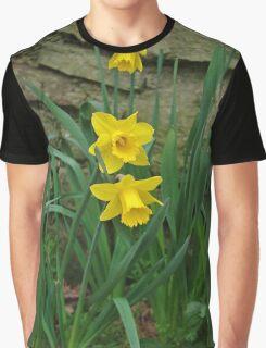 Garden Daffodils Graphic T-Shirt