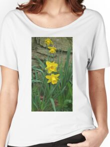 Garden Daffodils Women's Relaxed Fit T-Shirt