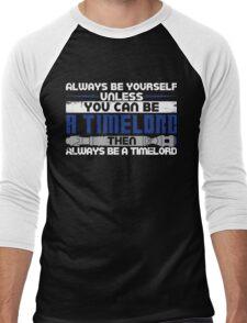 Timelord Men's Baseball ¾ T-Shirt