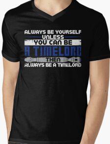 Timelord Mens V-Neck T-Shirt