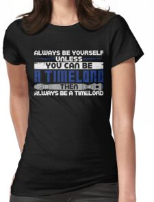 Timelord Womens Fitted T-Shirt