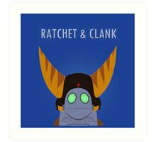 Ratchet And Clank Movie 2016 Art Print