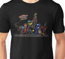 Ratchet And Clank Warrior In Action Unisex T-Shirt
