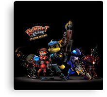 Ratchet And Clank Warrior In Action Canvas Print