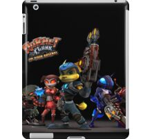 Ratchet And Clank Warrior In Action iPad Case/Skin