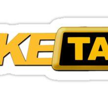 fake taxi driver Sticker