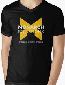 Monarch Solutions Shirt - Quantum Break  Mens V-Neck T-Shirt