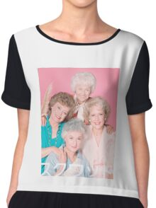 Golden Girls Squad Kanji  Chiffon Top