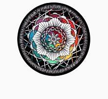 Rainbow Mandala Zen art Unisex T-Shirt
