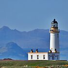 Donald Trump Turnberry Lighthouse Ayrshire Scotland by youmeus