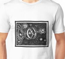 Routine EmDrive Journey from Earth to Alpha-Centauri in 3016 Unisex T-Shirt