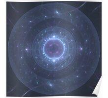 Electric Membrane 2 | Original Fractal Art  Poster