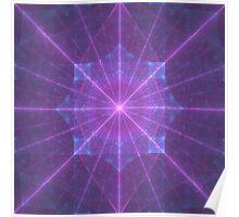 Infinite Power Grid | Original Fractal Art  Poster
