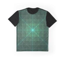 Grid Essence | Original Fractal Art  Graphic T-Shirt