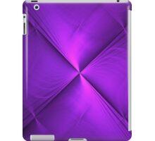 Origin of Purple   Original Fractal Art  iPad Case/Skin
