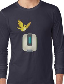 Minimalist Bastion and Ganymede Long Sleeve T-Shirt