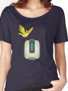 Minimalist Bastion and Ganymede Women's Relaxed Fit T-Shirt