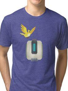 Minimalist Bastion and Ganymede Tri-blend T-Shirt