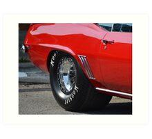 1969 Chevrolet Camaro  Art Print