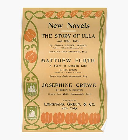 Artist Posters New novels the story of Ulla Mathhew Furth Josephine Crewe 0696 Poster