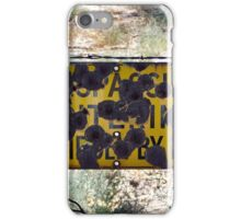 Redneck opinion of borders iPhone Case/Skin