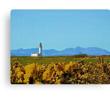 Donald Trump Turnberry Lighthouse & Arran Views Ayrshire Scotland Canvas Print