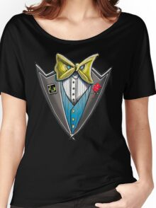 angry tuxedo Women's Relaxed Fit T-Shirt