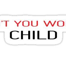 Famous Pop Song Lyrics Sticker